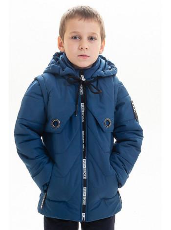 Куртка-жилет ВСЕВОЛОД весенне-осенняя (джинс)