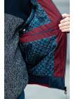 Куртка 7925-2 ДОННИ демисезонная д/мал (синий/красный)