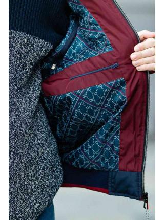 Куртка ДОННИ демисезонная д/мал (синий/красный)