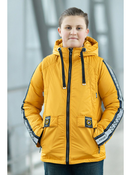 Куртка ОЛИВЕР демисезонная д/мал (желтый)