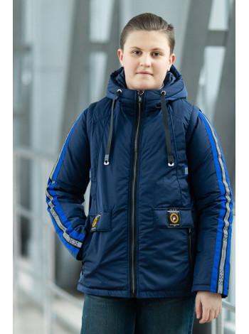 Куртка 7926-3 ОЛИВЕР демисезонная д/мал (синий)