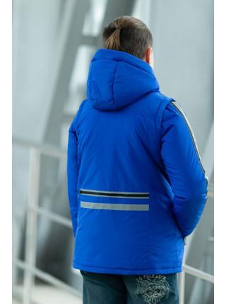Куртка ОЛИВЕР демисезонная д/мал (электрик)