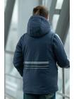 Куртка 7926 ОЛИВЕР демисезонная д/мал (графит)