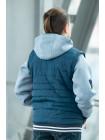 Куртка 7927-1 РЭДКЛИФФ демисезонная д/мал (джинс)