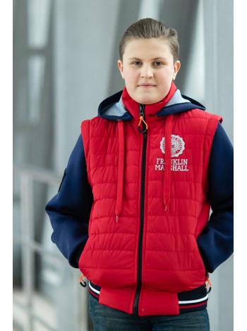 Куртка 7927 РЭДКЛИФФ демисезонная д/мал (красный)