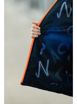 Куртка СМАРТ демисезонная д/мал (графит/оранж)