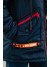 Куртка 7929 СМАРТ демисезонная д/мал (синий/красный)