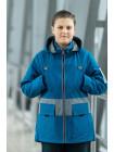 Куртка 7930-1 СТИВЕН демисезонная д/мал (голубой)