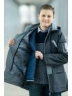 Куртка 7930-4 СТИВЕН демисезонная д/мал (графит)