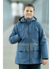 Куртка 7930-5 СТИВЕН демисезонная д/мал (джинс)