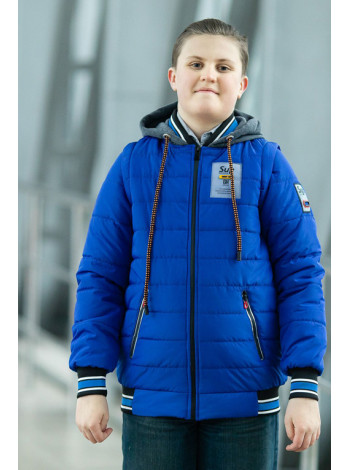 Куртка 7931-1 СПИН демисезонная д/мал (электрик)