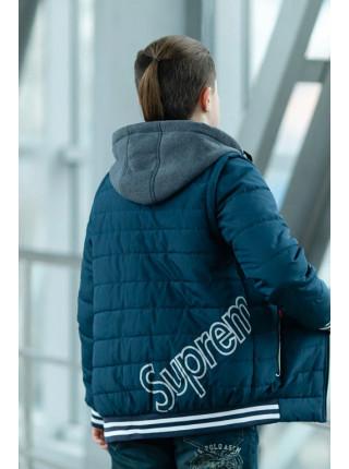 Куртка СПИН демисезонная д/мал (джинс)