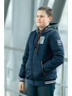 Куртка 7931 СПИН демисезонная д/мал (синий)