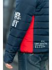 Куртка 7932-2 ФРЭНСИС демисезонная д/мал (синий/красный)