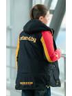 Куртка 7934 СЭМЮЭЛ демисезонная д/мал (черный/желтый/красный)