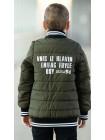 Куртка 7935 ВИЛЬФ демисезонная д/мал (хаки)
