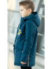 Куртка 7936-2 ОЛАФ демисезонная д/мал (джинс)