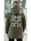 Куртка 7936-3 ОЛАФ демисезонная д/мал (хаки)