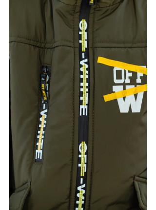 Куртка ОЛАФ демисезонная д/мал (хаки)
