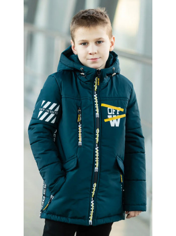 Куртка 7936 ОЛАФ демисезонная д/мал (синий)