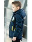 Куртка 7937 ДАНИС демисезонная д/мал (синий)