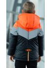 Куртка 7938 СВЕН демисезонная д/мал (черный/оранжевый)