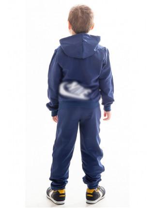 Подростковый спорт.костюм АВЕНИР д/мальч. (джинс+красный)