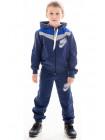 Детский спортивный костюм АВЕНИР д/мальч. (джинс+электрик)