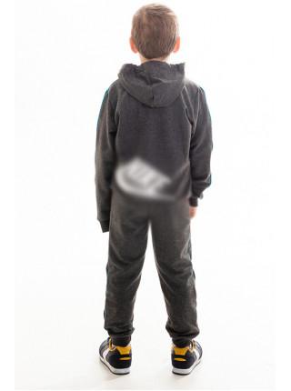 Детский спорт.костюм АВЕНИР д/мальч. (серый+красный)