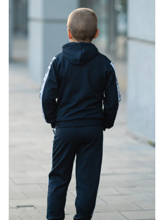Костюм спортивный МОНК д/мальч.(т.синий/белый)