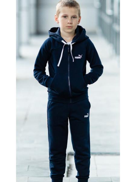 Подростковый спортивный костюм МОНК д/мальч. (черный)
