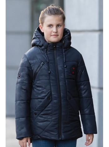 Зимняя куртка РОЛАН д/мал (т.синий)