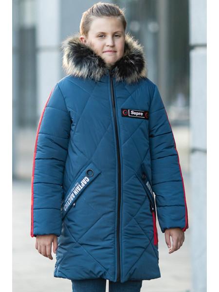 Зимняя куртка АЙРАТ д/мальч. (синий)