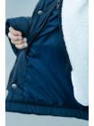 Зимняя куртка ФЛОР д/мал (т.синий)