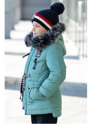 Зимняя куртка ЕРЕМЕЙ д/мальч. (мятный)