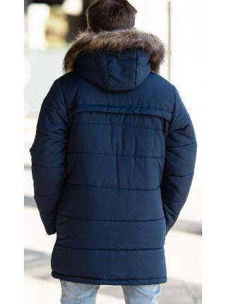 Зимняя куртка СКОР д/мальч. (синий)
