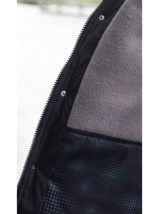 Зимняя куртка БОБ д/мальч. (серый)
