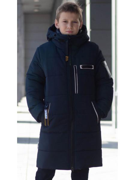Зимняя куртка ДЖАЙ д/мальч. (т.синий)