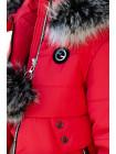 Зимняя куртка КАРИНА д/дев. (красный)