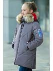 Пальто Ирада зимнее д/дев (серый)