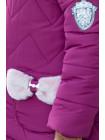 Зимняя куртка ДИЛЯ для девочки (фуксия)