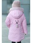Зимняя куртка ДИЛЯ для девочки (св.розовый)