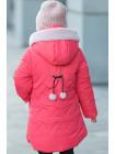 Зимняя куртка ДИЛЯ для девочки (коралловый)