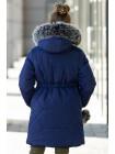 Зимняя куртка АМИНА д/дев. (т.синий)