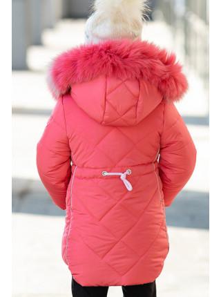 Зимняя куртка ВИЛЕНА д/дев. (коралл)