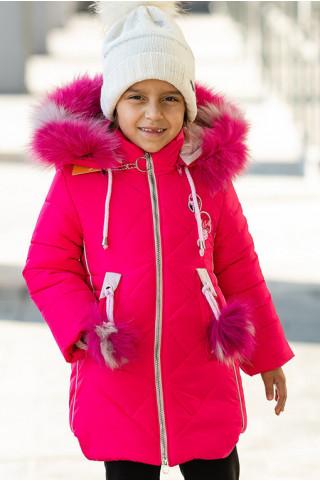 Зимняя куртка ВИЛЕНА д/дев. (малиновый)