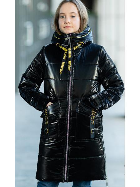 Зимняя куртка МАНИЛА д/дев. (черный)