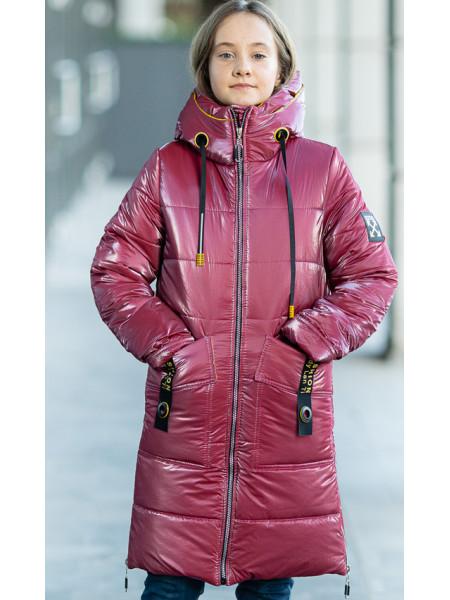Зимняя куртка МАНИЛА д/дев. (ягодный)