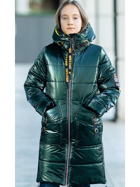 Зимняя куртка МАНИЛА д/дев. (бутылочный)