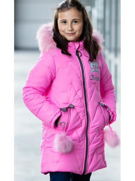 Зимняя куртка БРИАНА д/дев. (розовый)